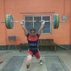 National Weightlifting Championships: Rakhi Halder creates new national record