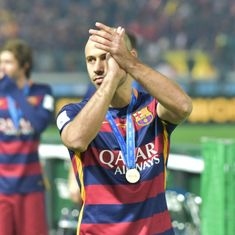 Javier Mascherano to leave Barcelona after eight years, reportedly headed to China