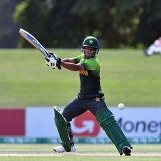 U-19 Cricket World Cup: Ali Zaryab stars as Pakistan down South Africa to reach semis