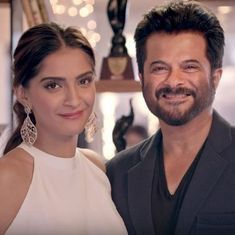 Shooting begins on Sonam and Anil Kapoor's first movie together, 'Ek Ladki Ko Dekha Toh Aisa Laga'