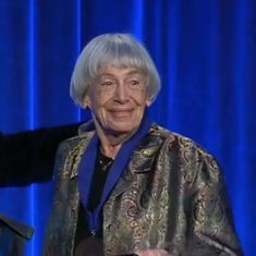 Watch: This speech from 2014 shows how fierce and witty writer Ursula K Le Guin was