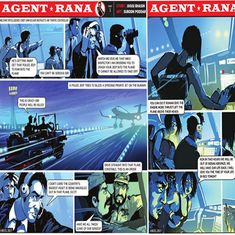 'Sickening': Gory depiction of female student leader in TOI's 'Agent Rana' comic provokes anger