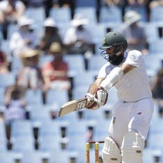 'You can get out on any ball': Amla finds Wanderers pitch 'one of the toughest' to bat