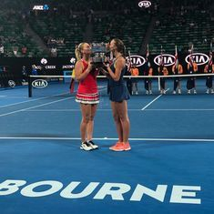 Timea Babos and Kristina Mladenovic lift Australian Open women's doubles title