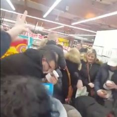 Watch: French shoppers nearly caused a riot at supermarkets over heavily discounted Nutella jars