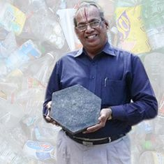 'Plastic is poor man's friend': Padma Shri winner Rajagopalan Vasudevan uses waste to build roads