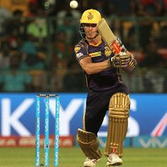IPL 2018: Fit-again Chris Lynn goes full tilt in the nets for KKR