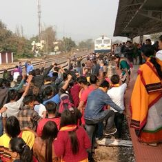 Assam: Curfew leaves train commuters stranded following death of 2 protestors in police firing