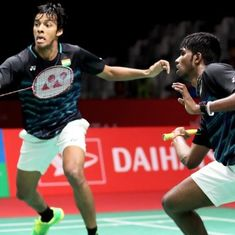 Indonesia Masters: Satwik-Chirag's dream run snapped by world No 1 pair in semis