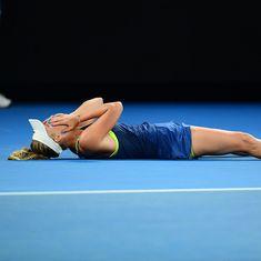 Australian Open final as it happened: Wozniacki wins her first Grand Slam trophy