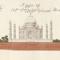 The 'Agra Scroll' reflects the imperial capital's glory before it was ravaged by war and time