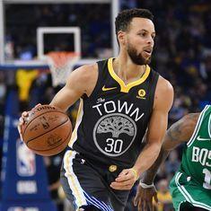 NBA: Steph Curry scores season-high 49 points as Golden State edge past Boston Celtics