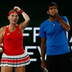 Rohan Bopanna and Timea Babos finish as runners-up in Australian Open mixed doubles