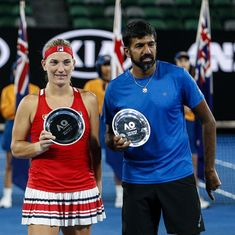 Rohan Bopanna showed he is still a title contender when he steps on court at a Grand Slam