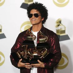 Big wins for Bruno Mars, Kendrick Lamar at the 2018 Grammy Awards