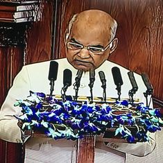 Triple talaq law will help Muslim women lead fearless lives: President Kovind opens Budget Session