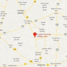 Punjab: Police officer shoots himself during a students' protest against 'moral policing'