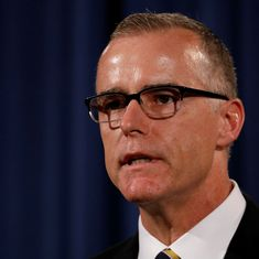 Andrew McCabe abruptly steps down as FBI deputy director