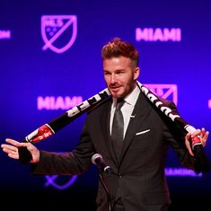 It's official: David Beckham is the owner of Miami-based Major League Soccer franchise