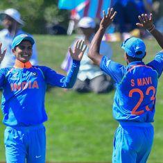 U-19 World Cup: Shubman Gill, Ishan Porel set up India's 203-run win over Pakistan