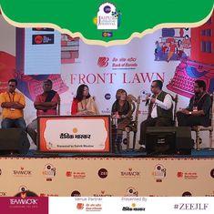 जयपुर साहित्य महोत्सव में गंभीर और लोकप्रिय के बीच अपना 'आधार' तलाशती दिखी हिंदी