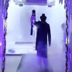 Watch: This Pakistani groom entered his wedding exactly as WWE star Undertaker would have