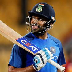 Rohit Sharma unperturbed by exclusion from India's squad for Afghanistan Test