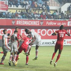 Neroca grab narrow win over Churchill Brothers to remain second in I-League