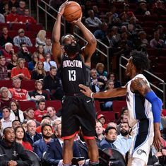 James Harden becomes first player in NBA history to record 60-point triple double