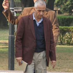 We have to bridge the trust deficit between Kashmiris and other Indians, says Dineshwar Sharma