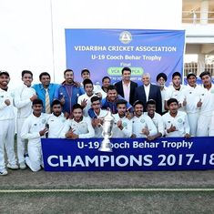 After bagging Ranji title, Vidarbha win first under-19 Cooch Behar Trophy