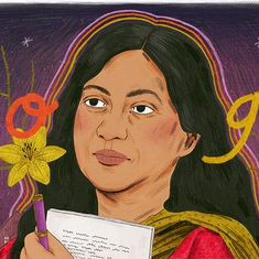 Google celebrates publication of author Kamala Das's autobiography 'My Story' with a doodle