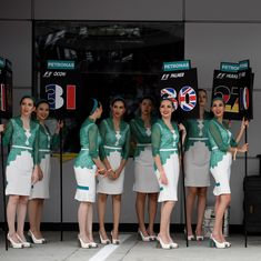 No more grid girls in Formula 1: Decision to end the pre-race tradition divides social media