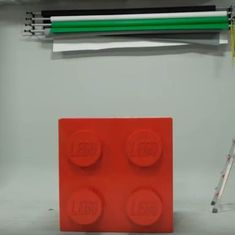 Watch: LEGO built a 10-foot replica of its basic red brick, using over 133,000 tiny bricks