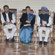 UPA chairperson Sonia Gandhi calls for Opposition unity outside and inside Parliament
