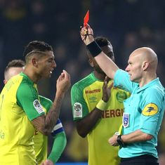 French Ligue 1 referee who kicked player handed three-month ban