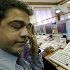 शेयर बाजार में हाहाकार, सेंसेक्स 1250 और निफ्टी 350 अंकों के नुकसान पर खुला