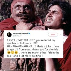 Amitabh Bachchan's love-hate saga with Twitter continues after losing followers overnight