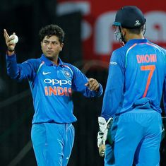 MS Dhoni understands match situations better than bowlers, says Kuldeep Yadav