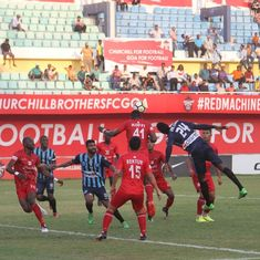 Churchill Brothers register 2-1 victory over I-League leaders Minerva Punjab