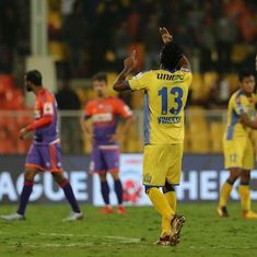 Late CK Vineeth winner stuns Pune City at home as Kerala Blasters go fifth