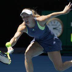 Caroline Wozniacki shocked in St Petersburg quarter-final by Russia's Daria Kasatkina