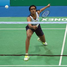 PV Sindhu wastes a match point to lose a tight India Open final against Beiwen Zhang
