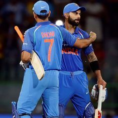 Watch: Virat Kohli recalls two moments on the field that sum up his respect for MS Dhoni