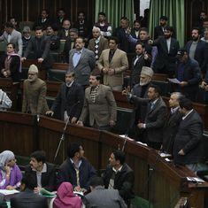 Jammu and Kashmir: Opposition protests in Assembly against Haryana assault incident