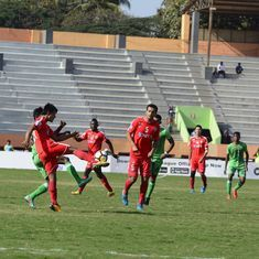 I-League: Chennai City fightback to hold defending champions Aizawl FC to a 1-1 draw