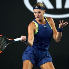 Defending champ Kristina Mladenovic sets up St Petersburg final with Petra Kvitova