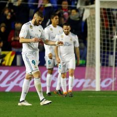 Real Madrid drop 18 points behind La Liga leaders Barcelona after 2-2 draw with Levante