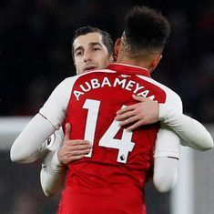 'They looked as if they had played for us forever': Wenger lauds Aubameyang and Mkhitaryan