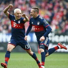 Ribery scores as Bayern Munich cruise to eight straight Bundesliga win, beat Mainz 2-0